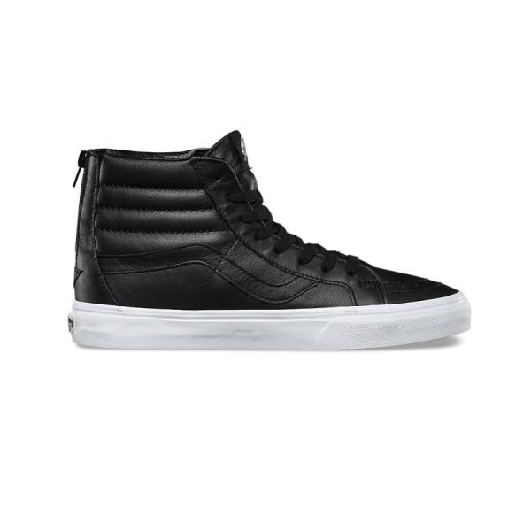 Vans Sk8 High Leather Black