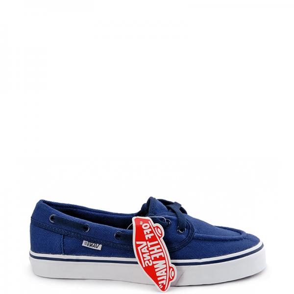 Vans Zapato Low Blue/White