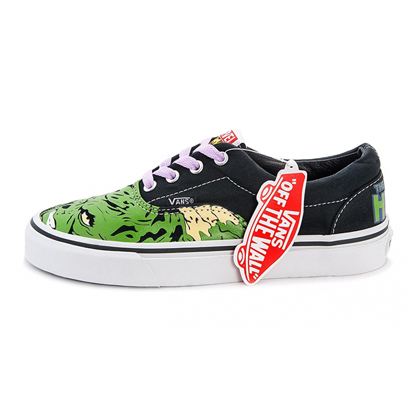 Vans Era Marvel Low Black/Green/White