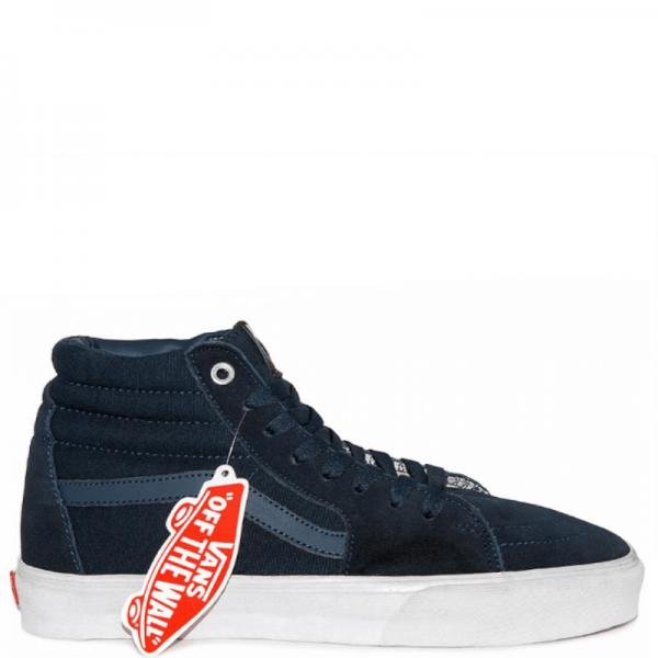 Vans Sk8 High Suede Dark blue/White