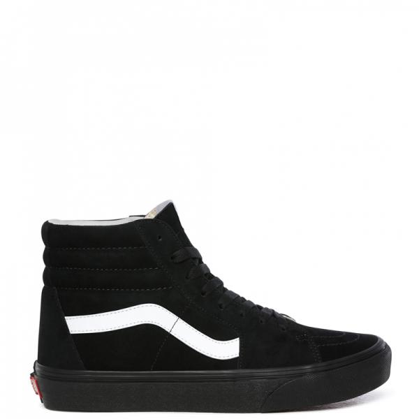 Vans Sk8 High Suede Black/White