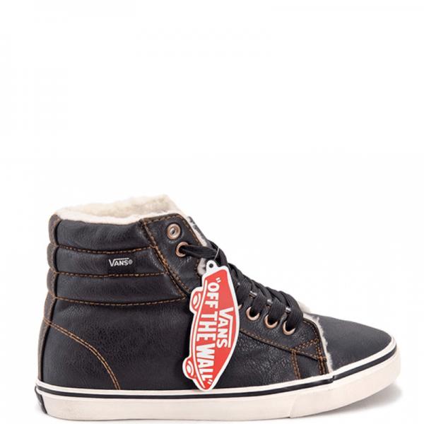 Vans Chukka High Leather Black