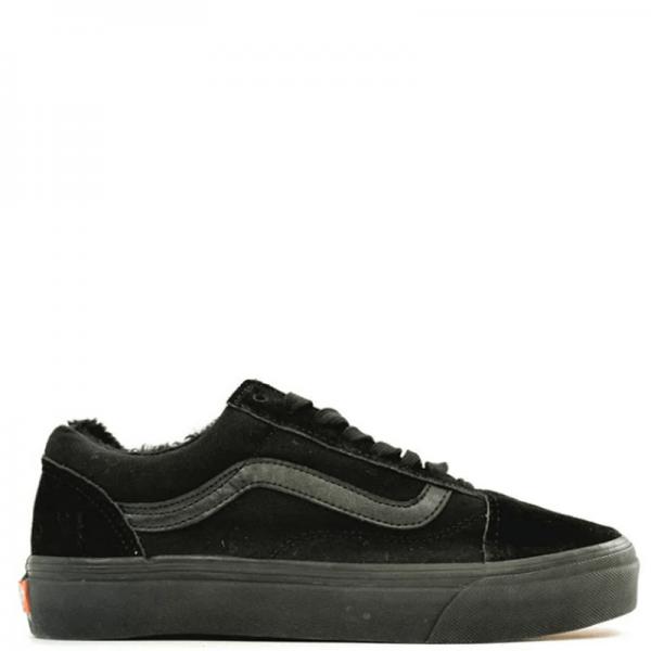 Vans Old Skool Low Suede Black