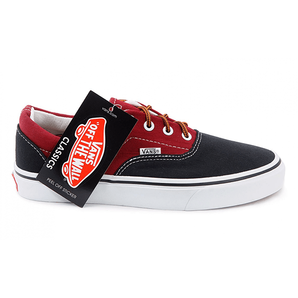 Vans Era Low Black/Red/White