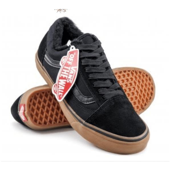 Vans Old Skool Low Suede Black/Brown