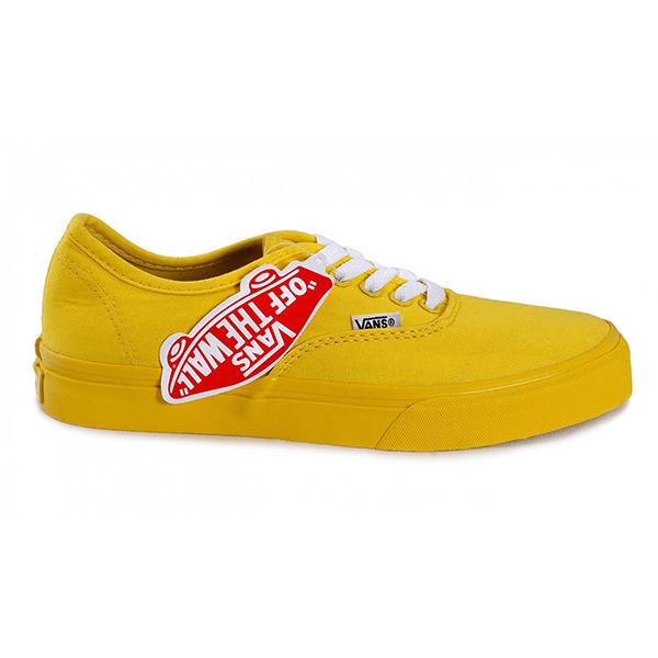 Vans Canvas Authentic Low Yellow