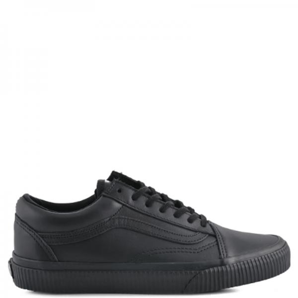 Vans Old Skool Low Leather Black
