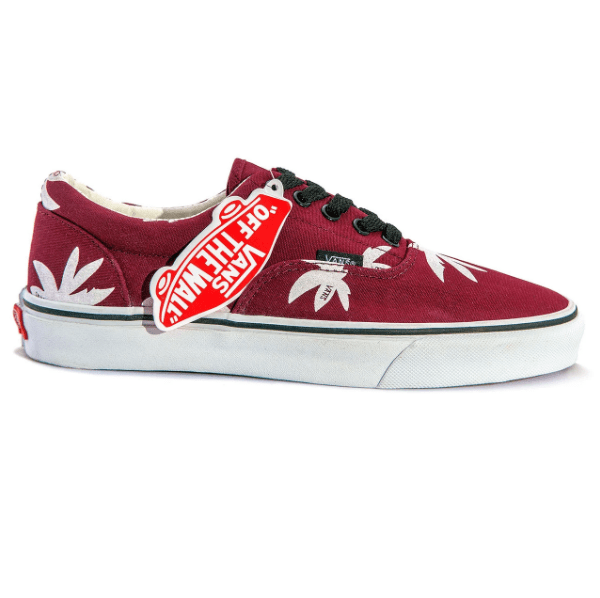 Vans Era Palm Low Red/White