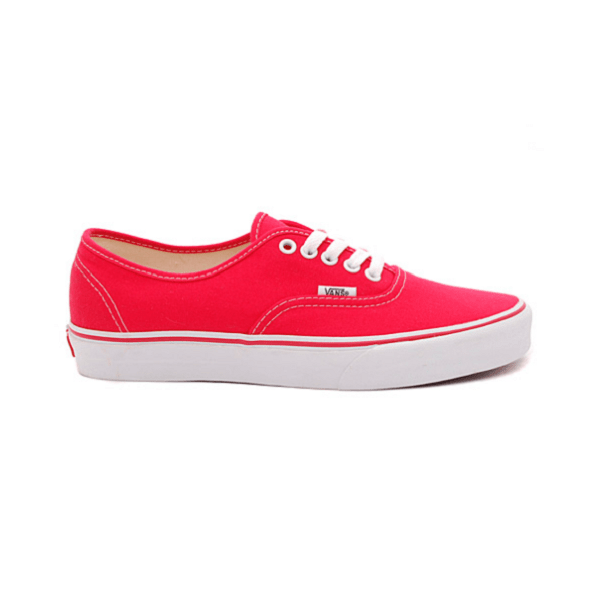 Vans Authentic Low Red/White