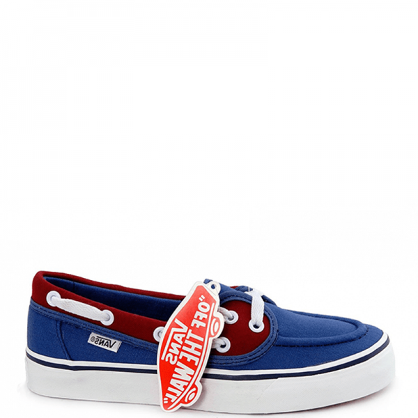 Vans Zapato Low Blue/Red/White