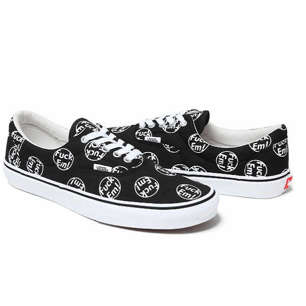Vans Era Fuck Em Low Black