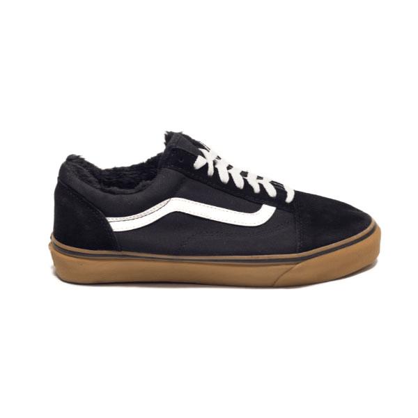 Vans Old Skool Low Black/White/Brown