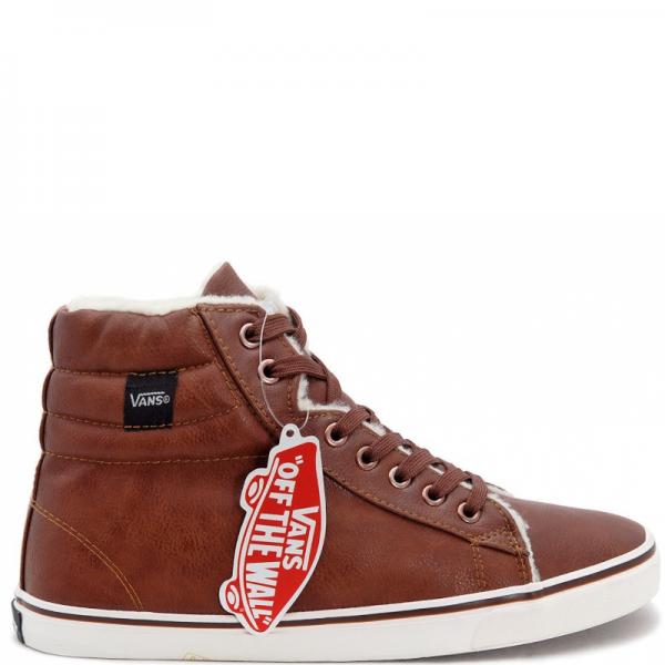 Vans Chukka High Leather Brown