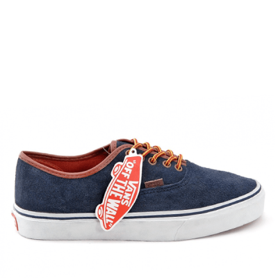 Vans Authentic Low Suede Blue/White