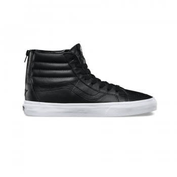 Vans Sk8 High Leather Black