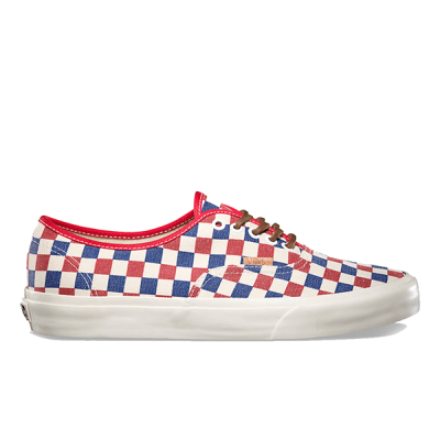 Vans Authentic Low Red/White/Blue