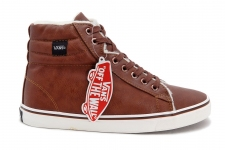 Vans Chukka High Leather Brown