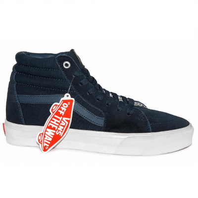 Vans Sk8 High Suede Dark blue/White