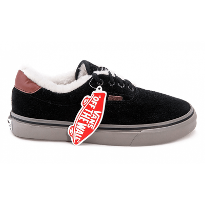 Vans Era Low Suede Black/Gray