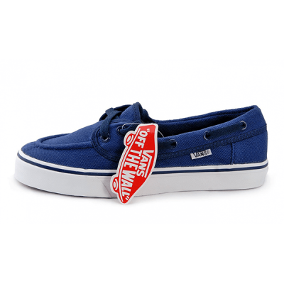 Vans Zapato Low Blue/White
