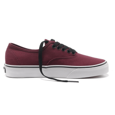 Vans Authentic Low Bordo/White
