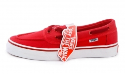Vans Zapato Low Red/White