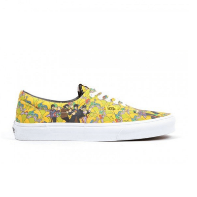 Vans Authentic Canvas Low Yellow/White