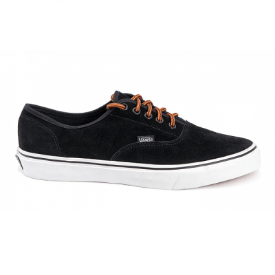 Vans Authentic Low Suede Black/White