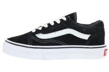 Vans Old Skool Low Suede Black/White