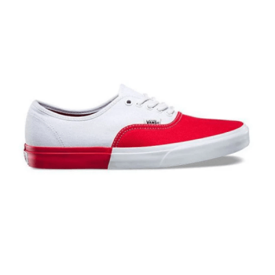 Vans Authentic Low White/Red