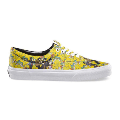 Vans Authentic The Beatles Low Yellow/White