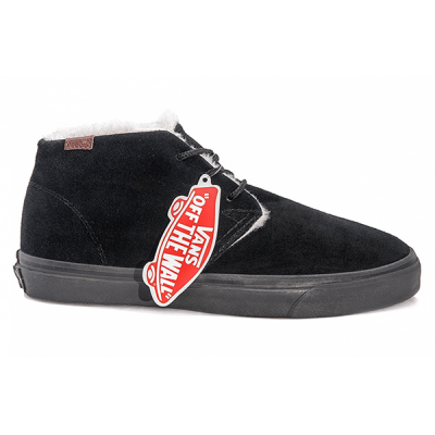 Vans Chukka High Suede Black