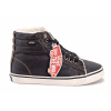 Vans Chukka High Leather Black